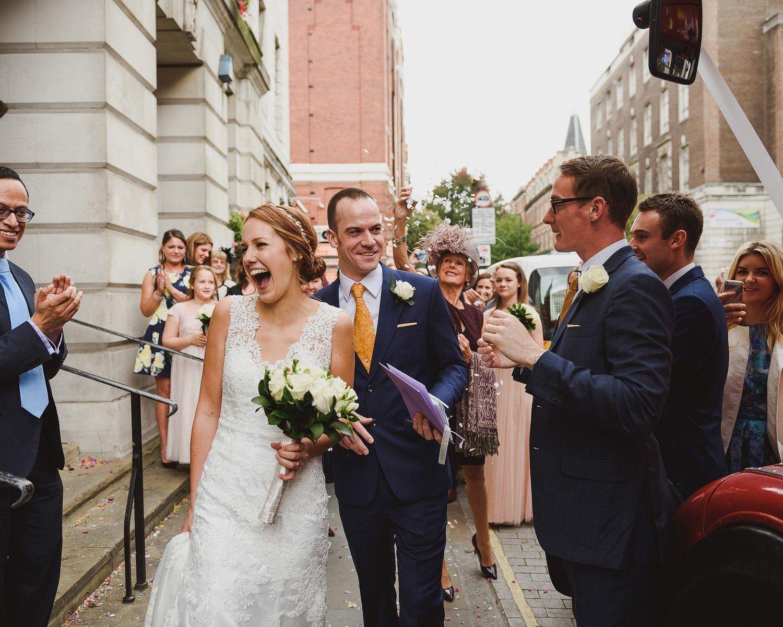 wedding photos camden town hall
