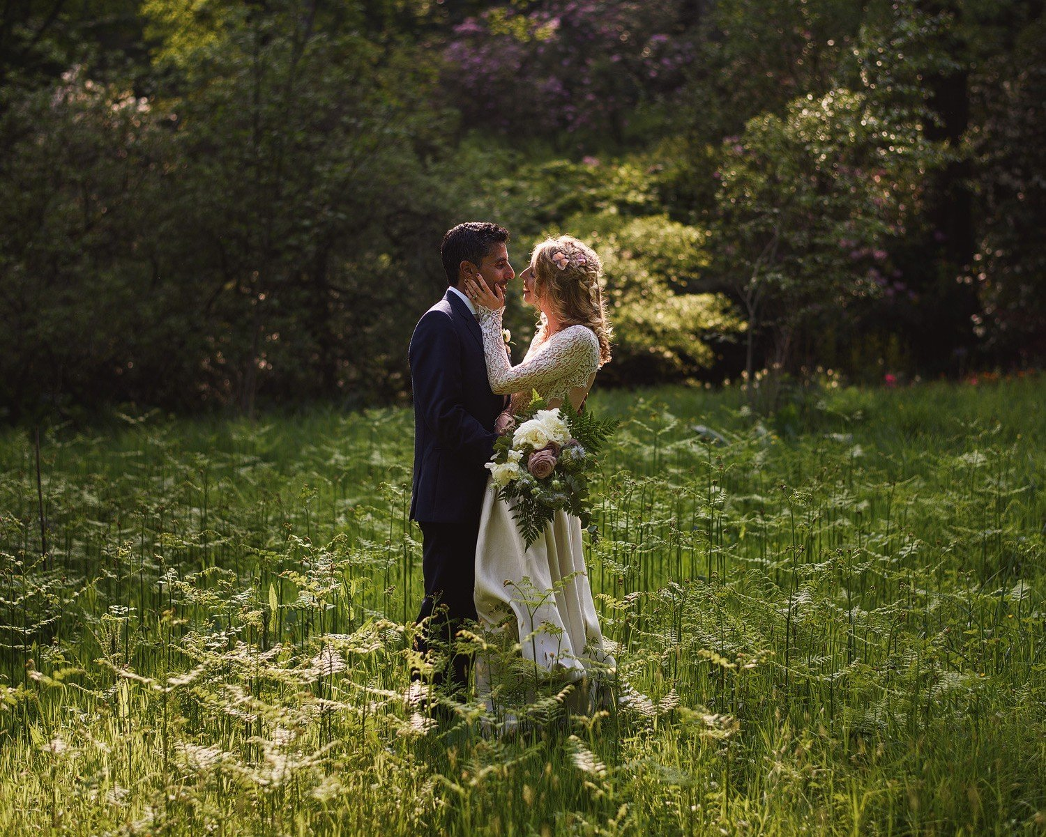 lydney park gardens wedding photographer