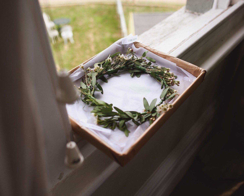 osea island wedding day