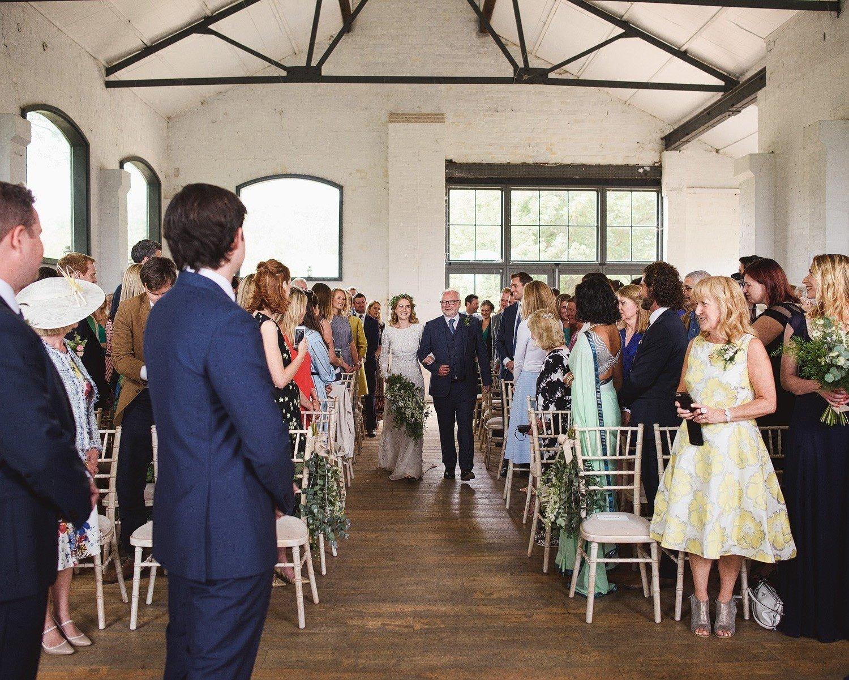 wedding on osea island