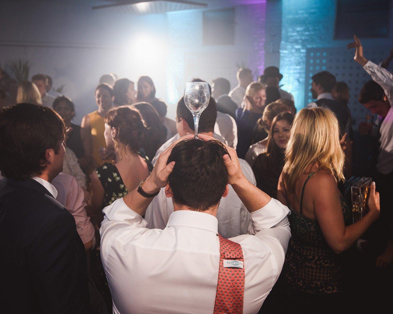 confetti canon wedding