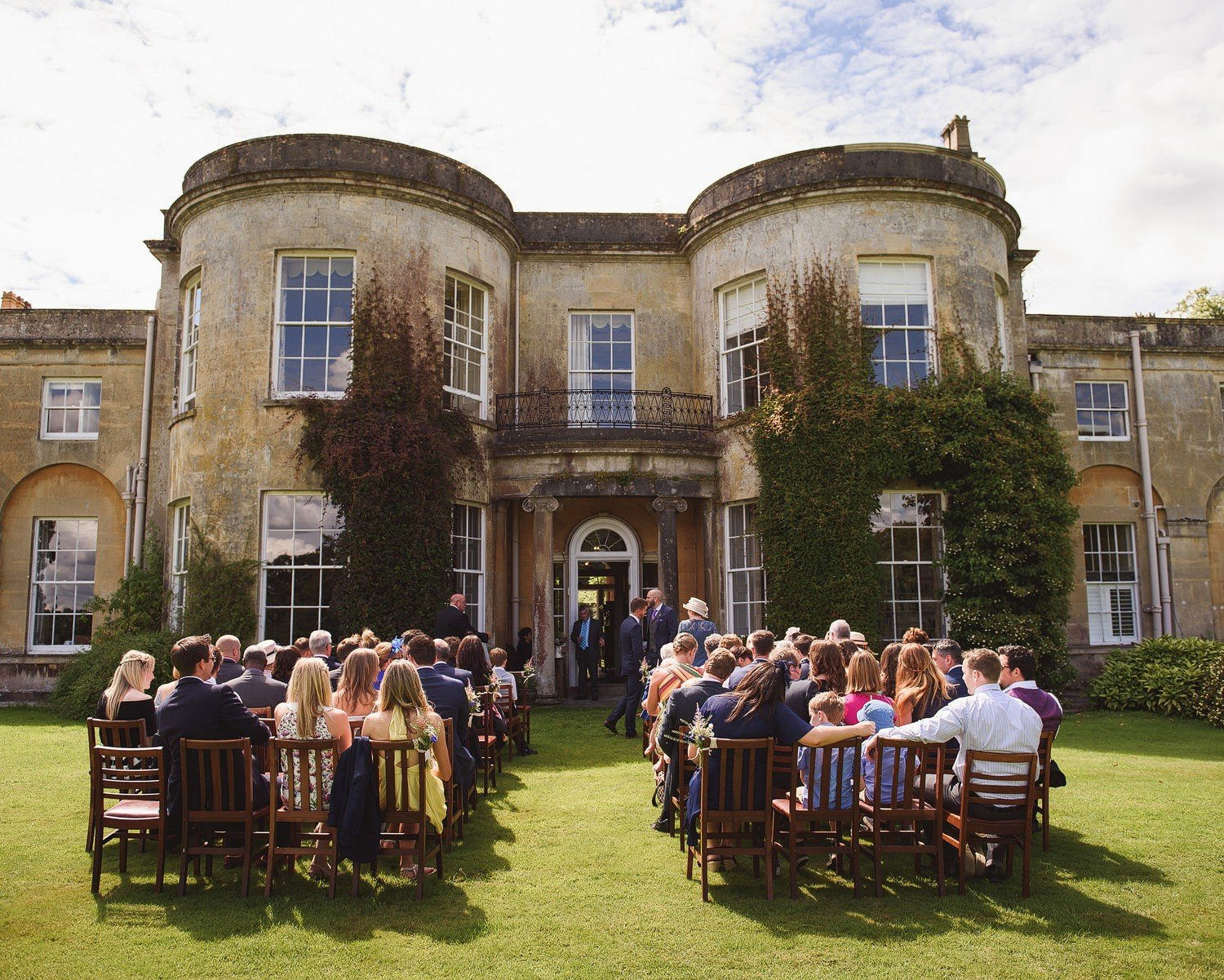 outdoor wedding somerset