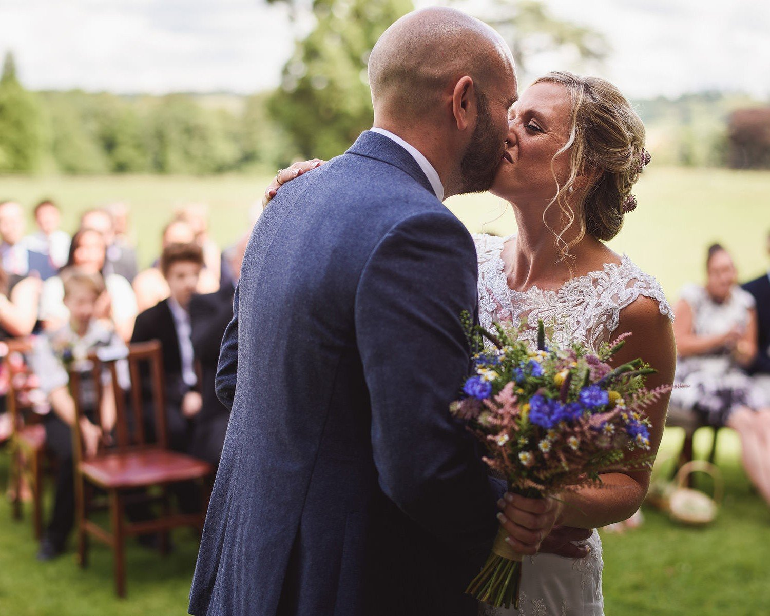 somerset wedding at harptree court