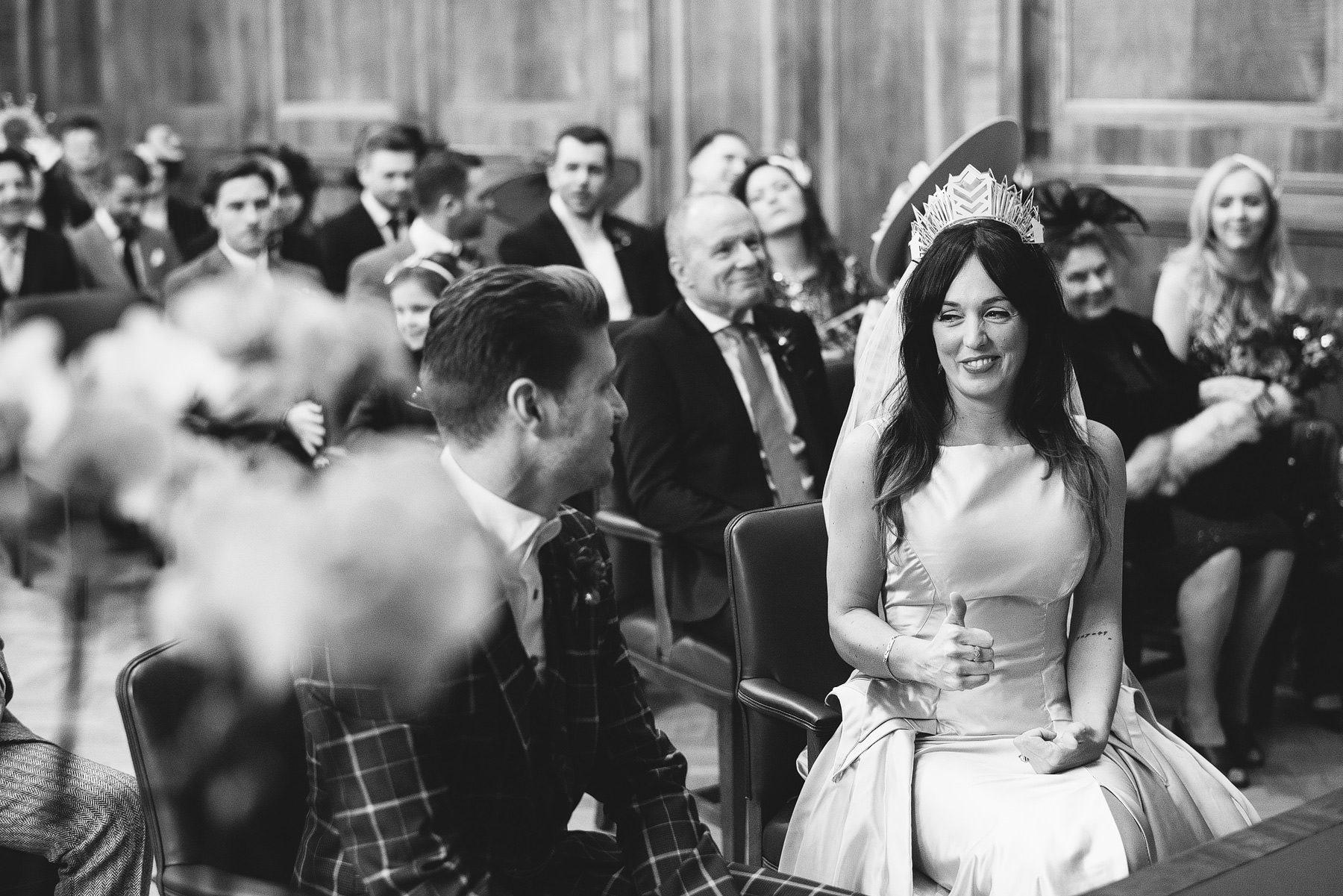 wedding at hackney town hall