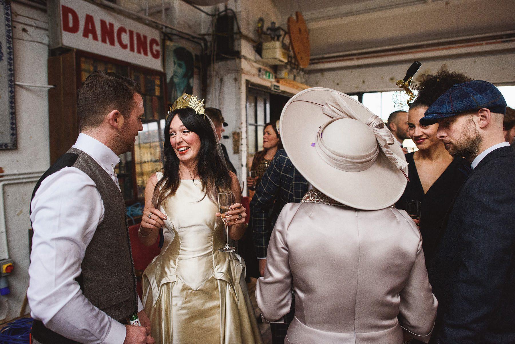 dalston heights wedding