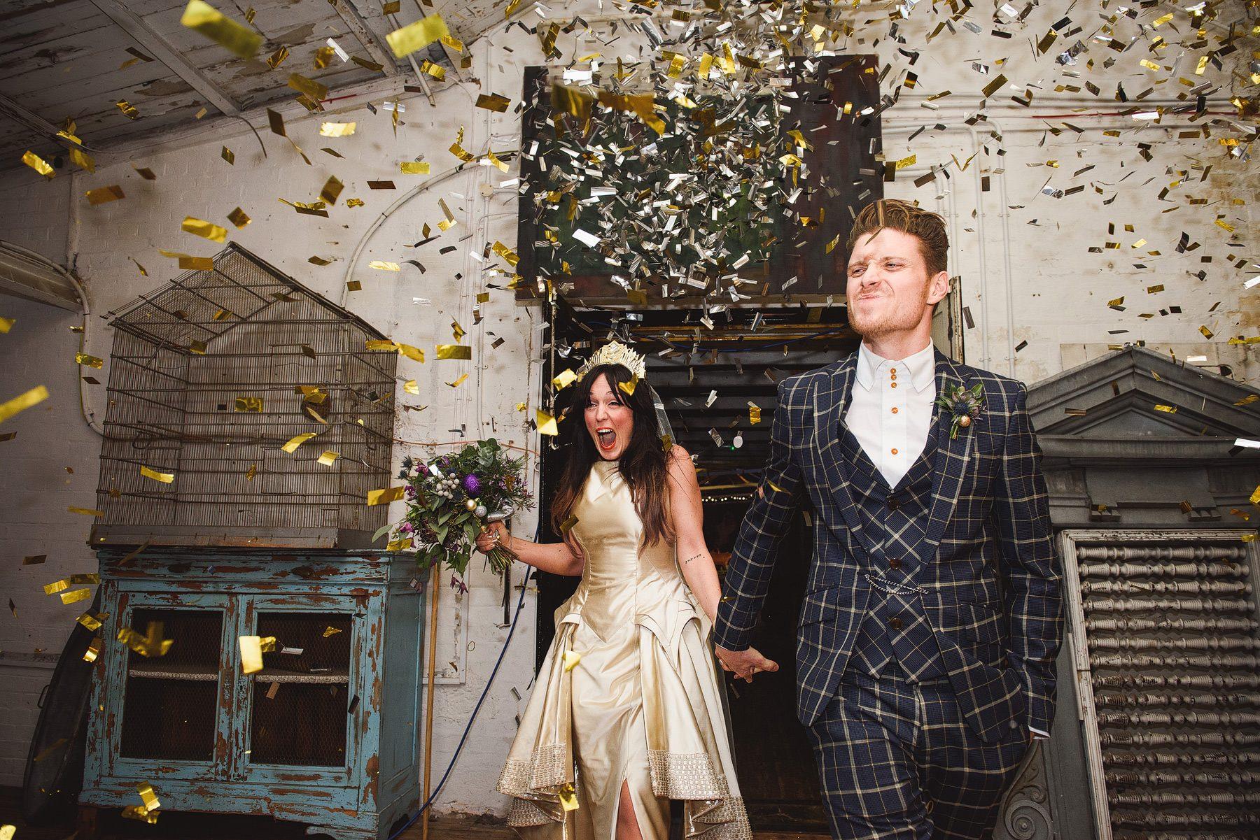 music themed wedding