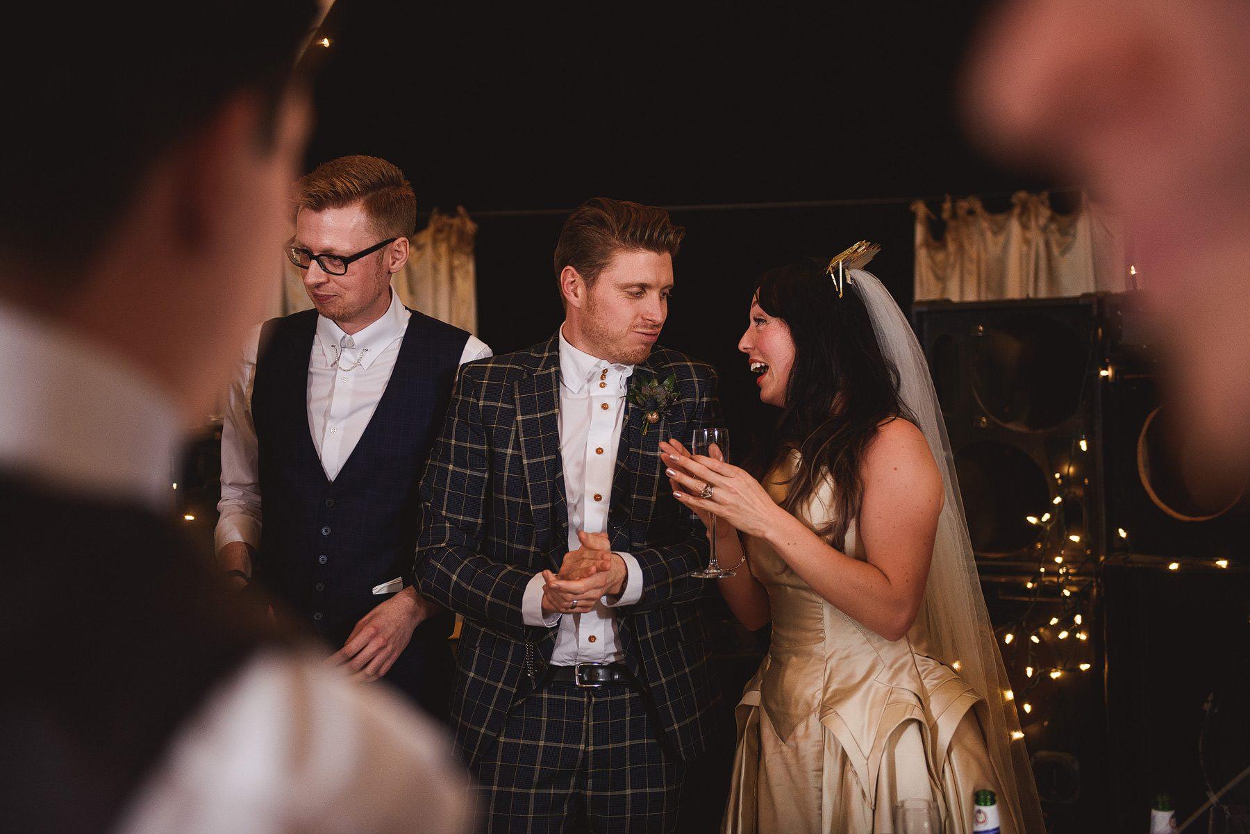cool london wedding