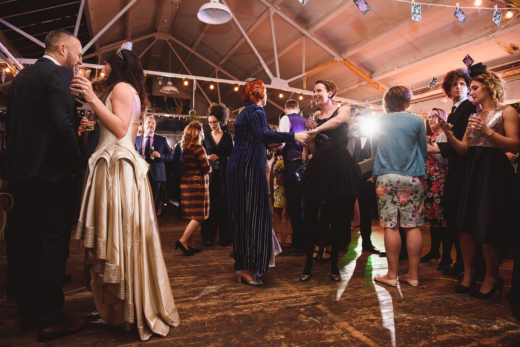 cool london wedding dalston heights