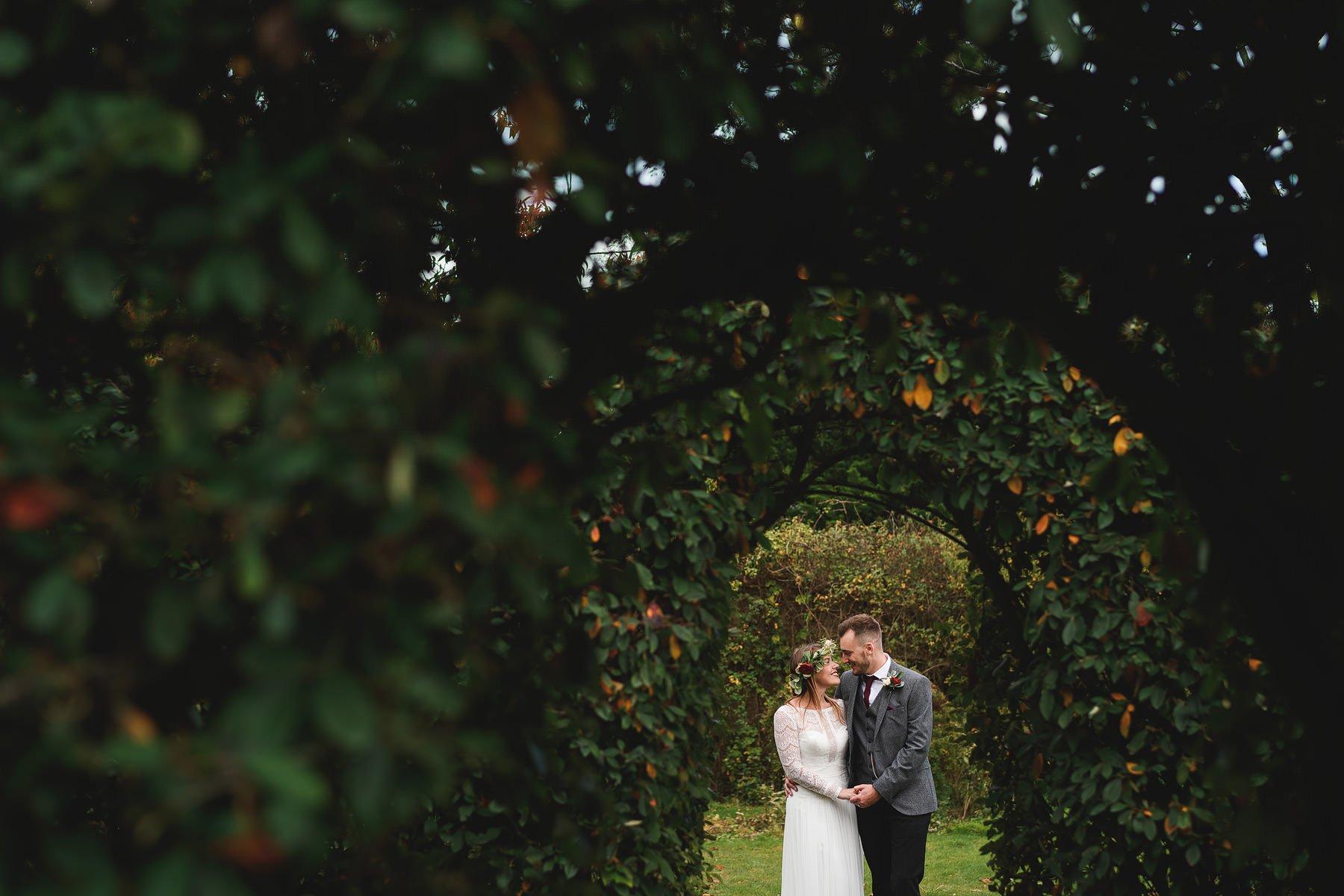 osea island wedding portrait