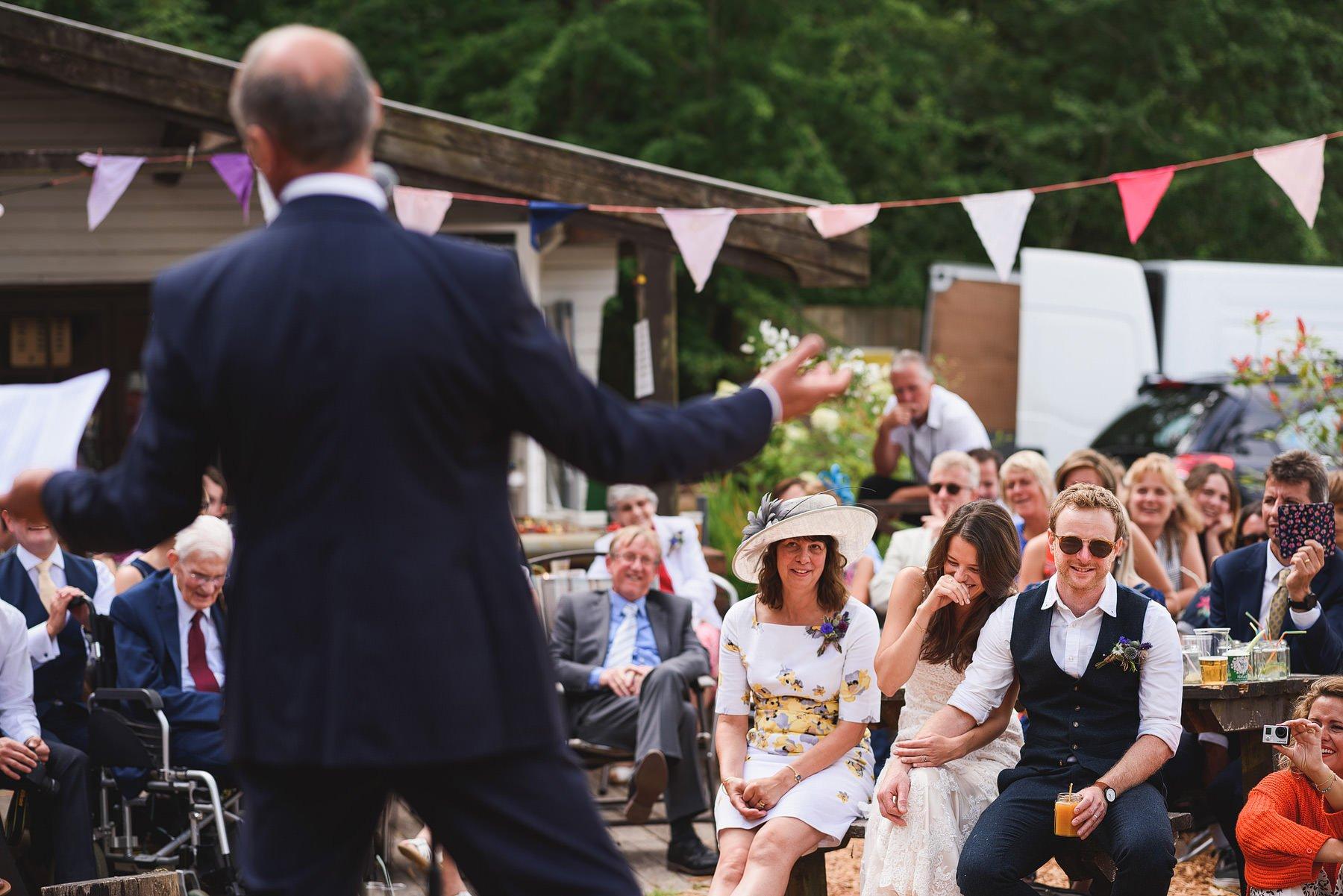 yurt camp devon wedding photos