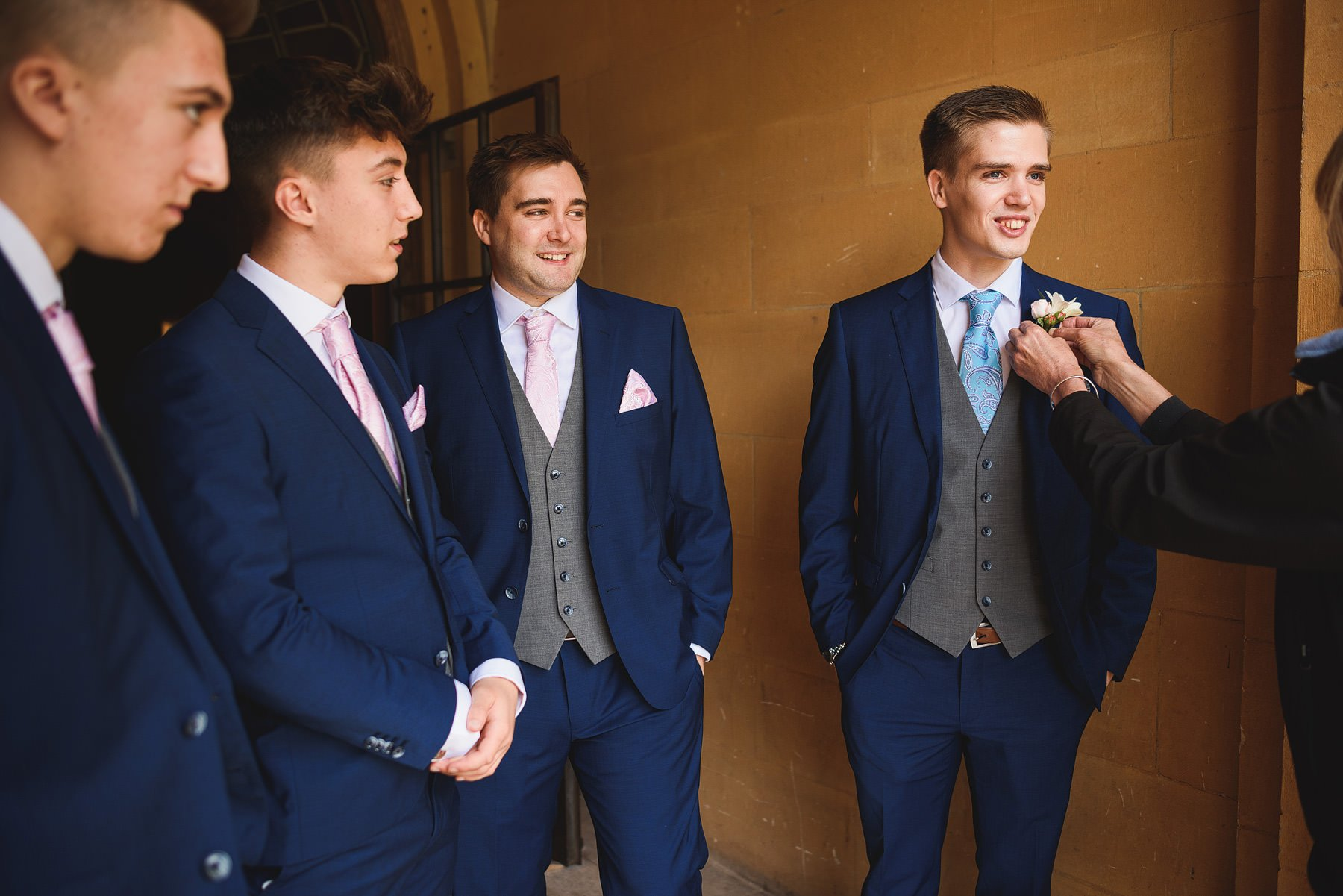 groom at coombe lodge