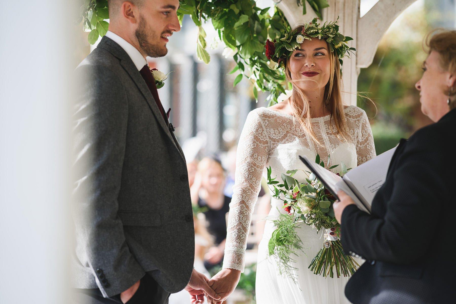 amazing osea island wedding photos