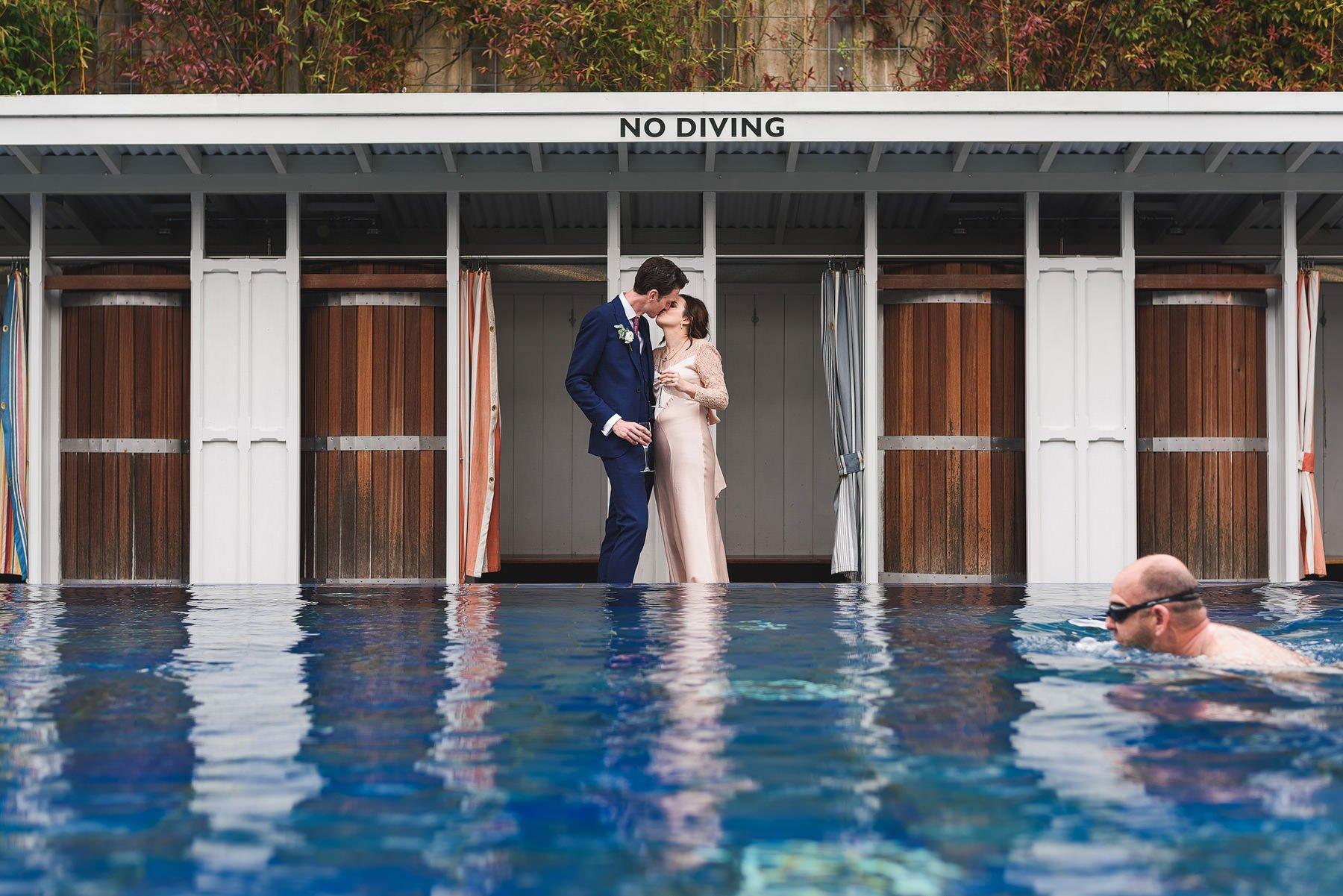 bristol lido wedding photographer