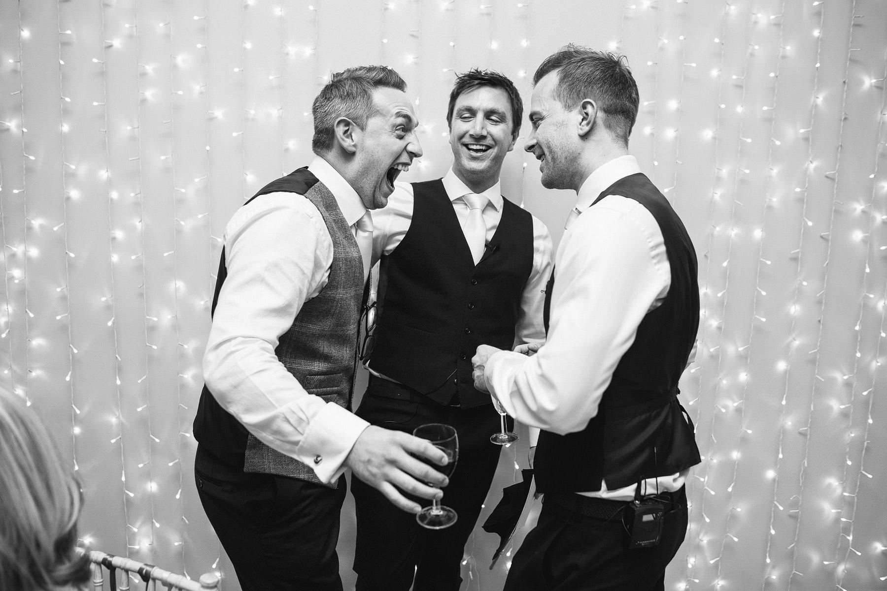 matara centre laughter at a wedding