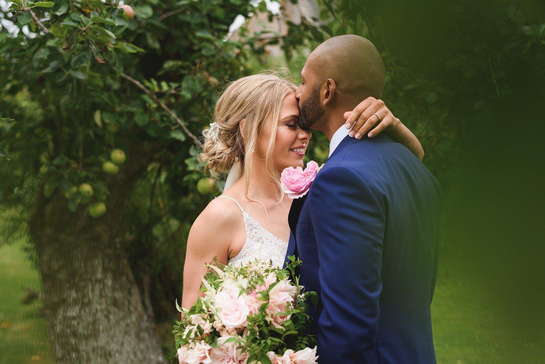 almonry barn wedding portrait