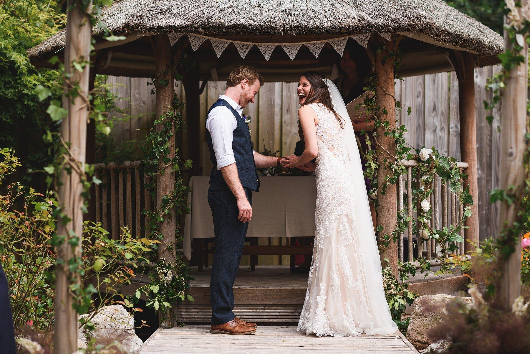 wedding photographer yurt camp devon
