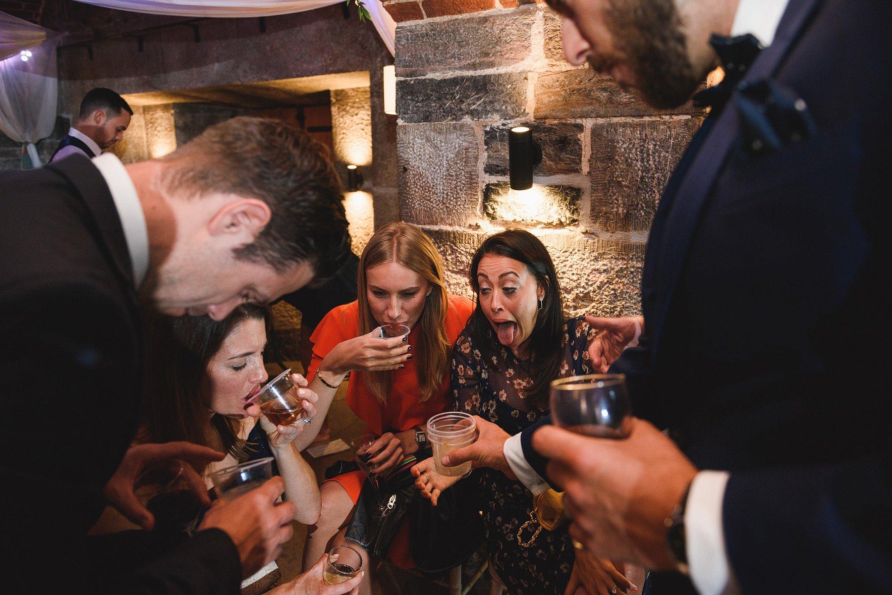 jaeger bombs at weddings
