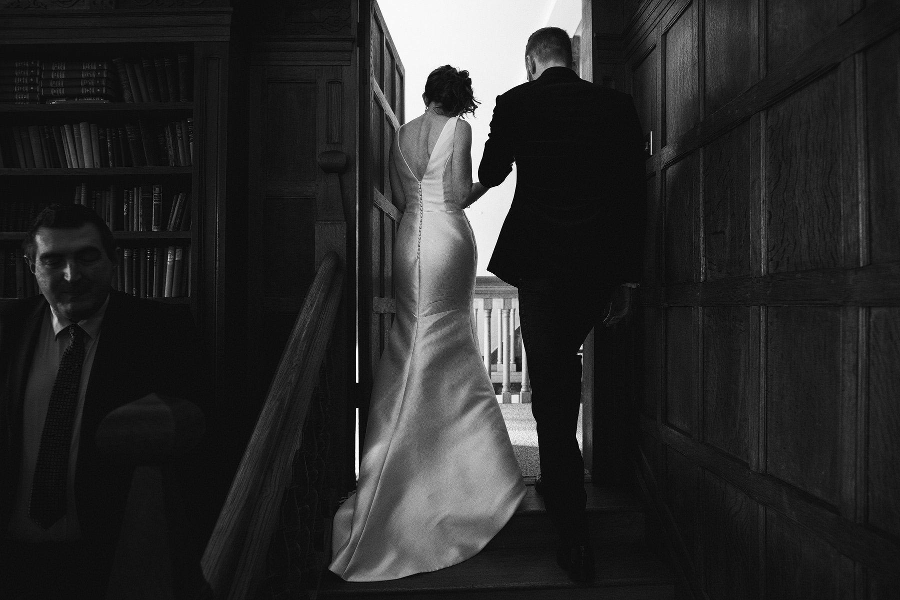 winter wedding at brinsop court