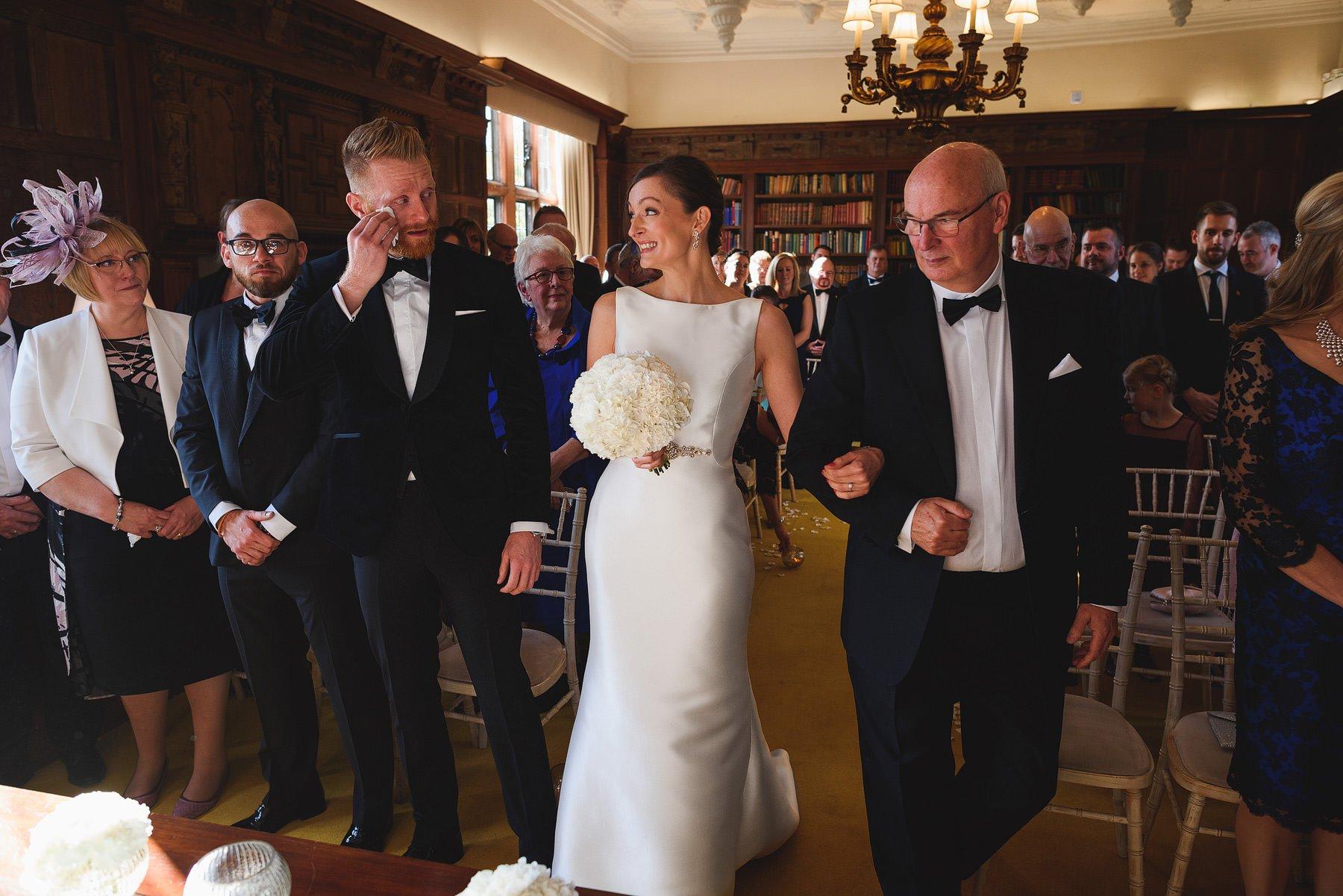beautiful brinsop court wedding
