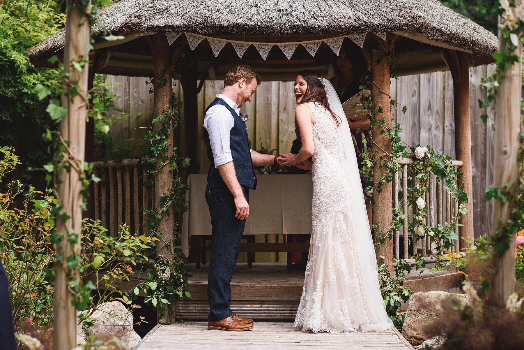 an amazing yurt camp wedding