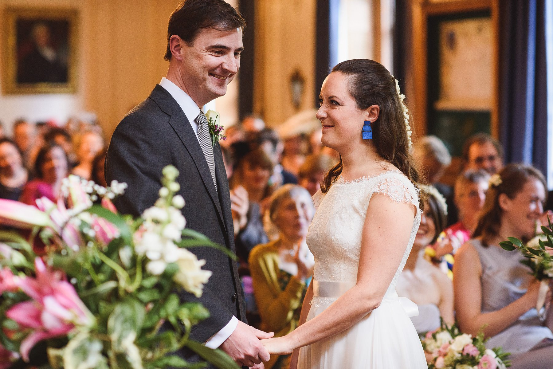 a wedding at stationers hall in london