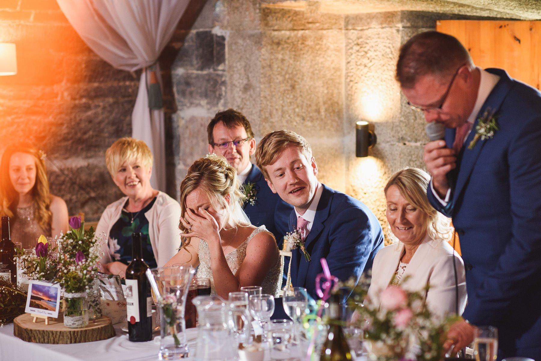 wedding speeches at polhawn fort