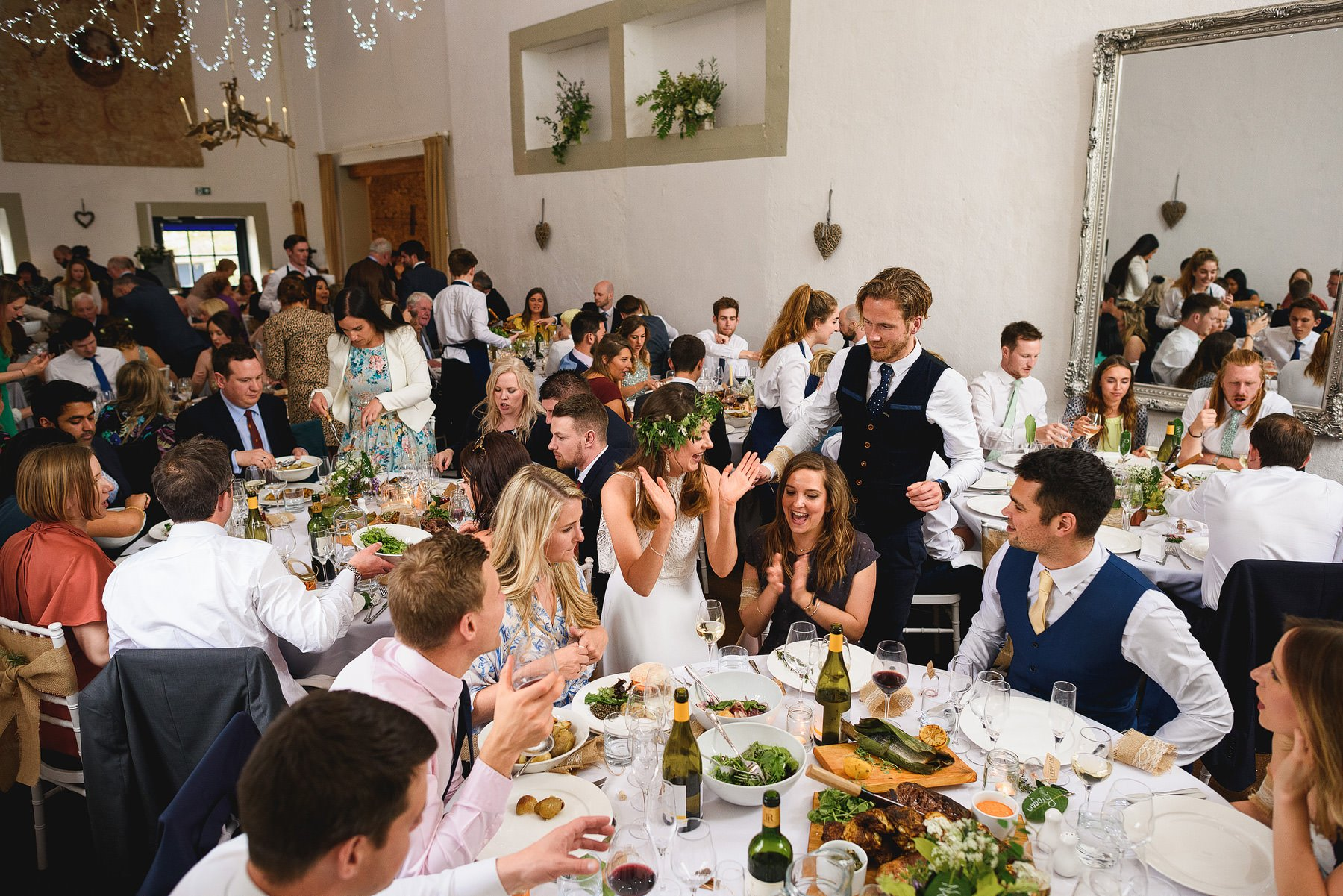 a beautiful summer wedding at merriscourt