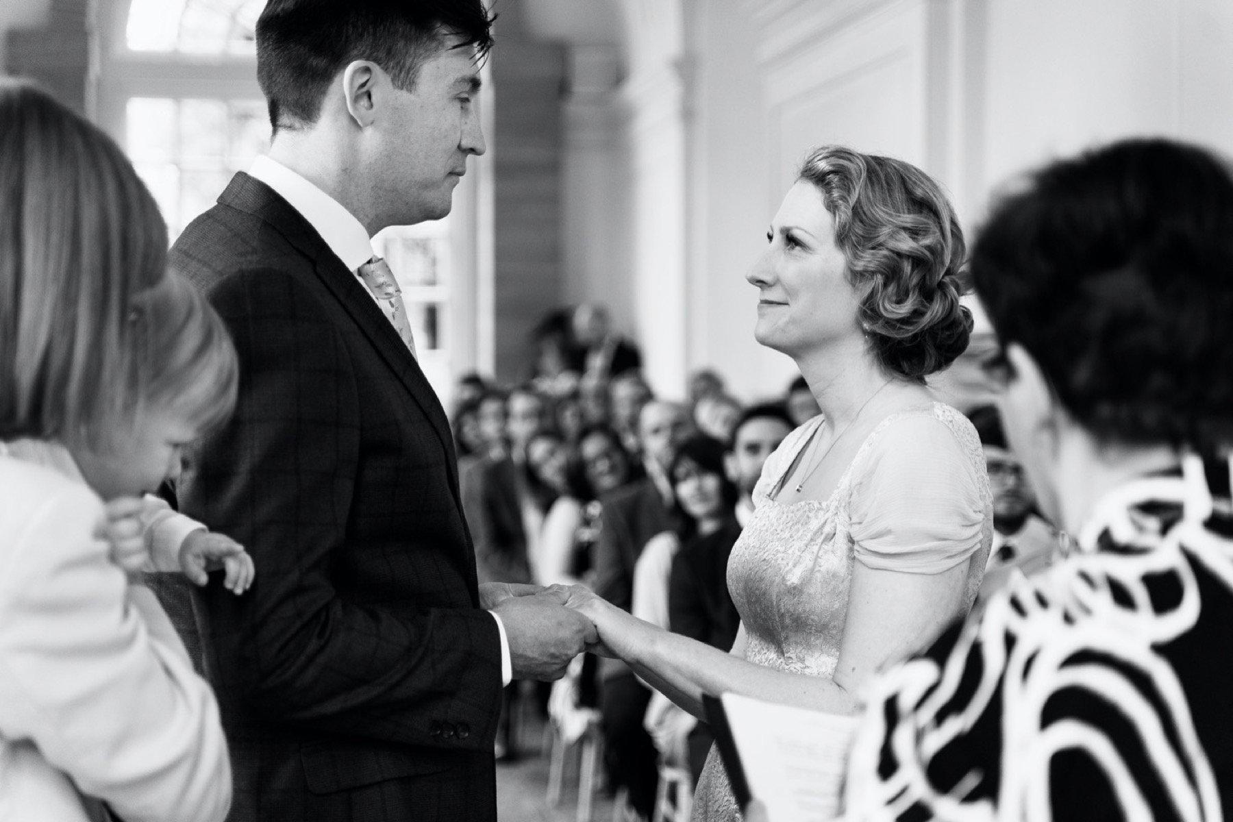 wedding ceremony at hestercombe gardens somerset