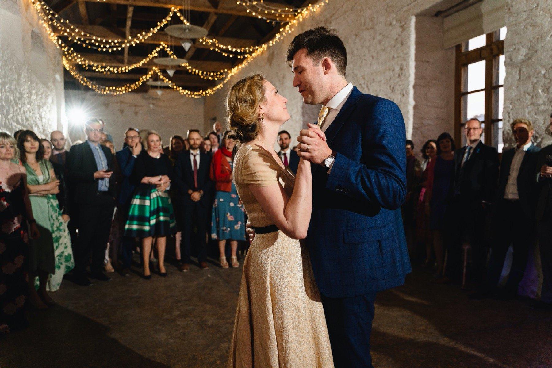 first dance at hestercombe gardens wedding