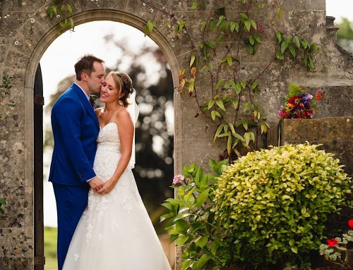A colourful Coombe Lodge wedding