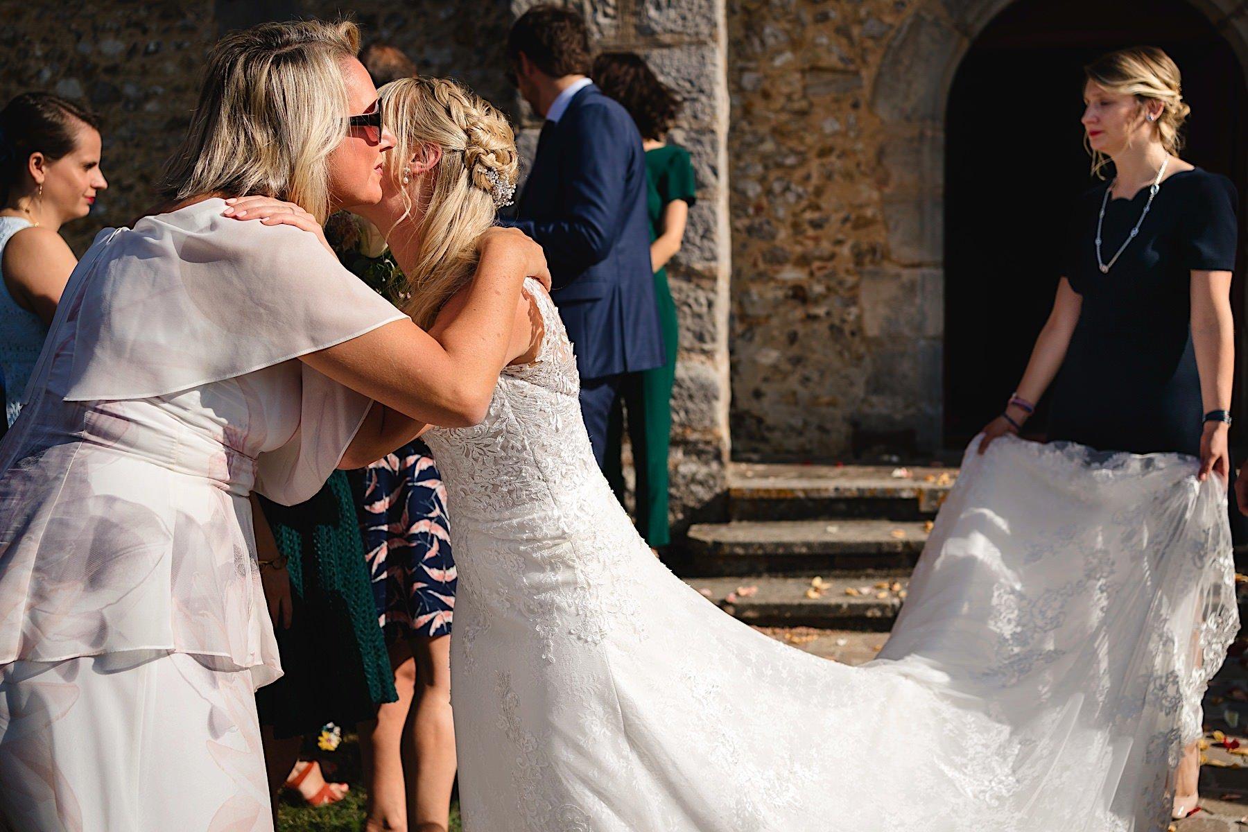 french destination wedding at manoir de vacheresses