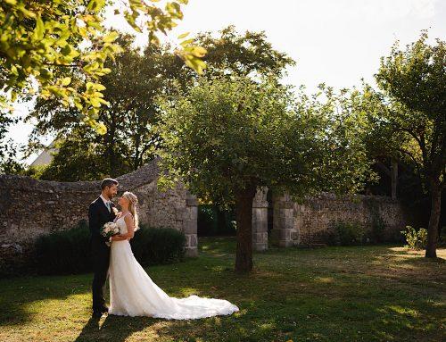 A Manoir de Vacheresses wedding in France
