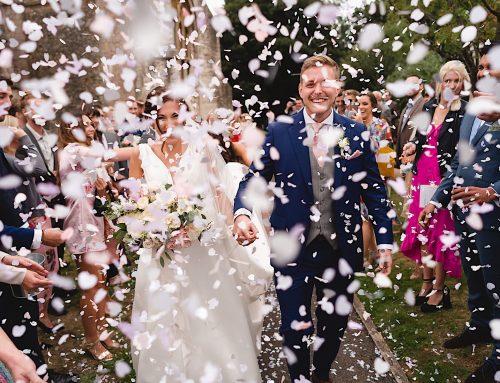 A fun Somerset Farm Wedding