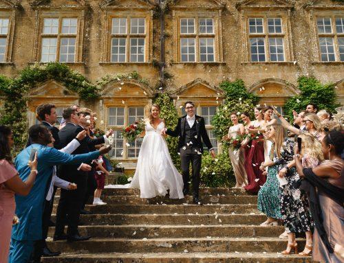 A beautiful summer Brympton House wedding